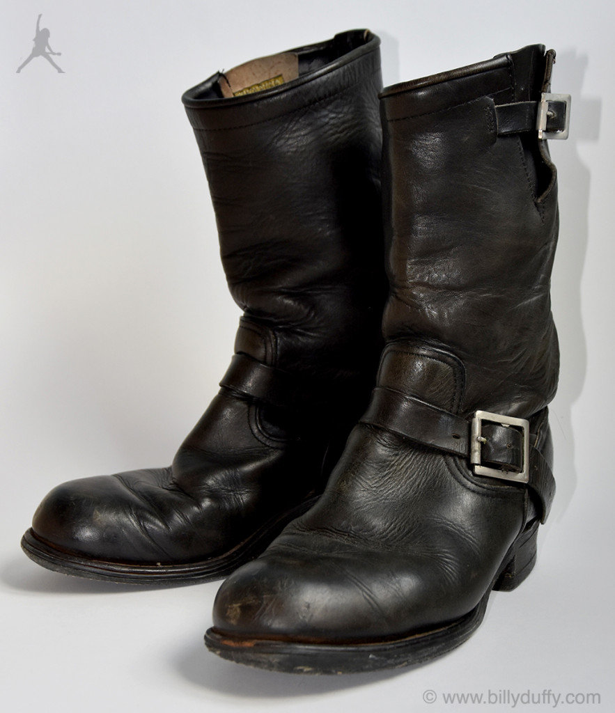Billy Duffy's 'Clash' Motorcycle Boots
