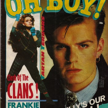 Billy on the cover of Oh Boy Magazine – 1984