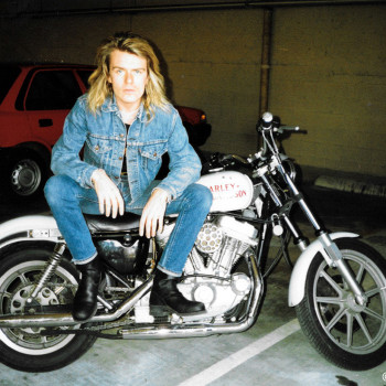 Billy and his first Harley…