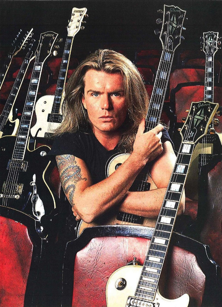 Billy Duffy & his guitars - 'Sonic Temple' era