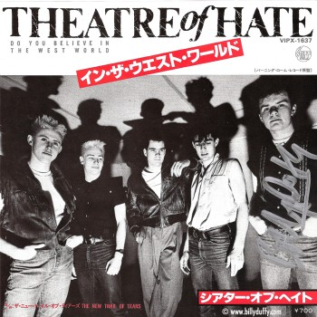 Rare 'Theatre of Hate' Japanese 7″ Single