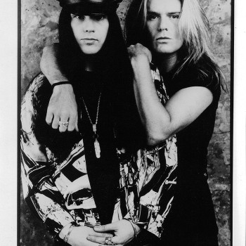 'Sonic Temple' era Billy & Ian Press Pic