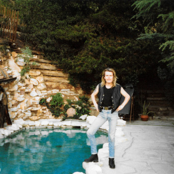 Hanging at Billy Idol's House…