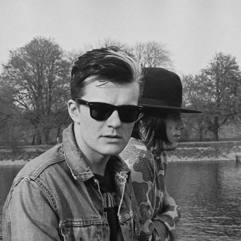 Billy and Ian at Eel Pie Studio – 1984