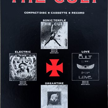 The Cult Albums Record Store Poster – 1999