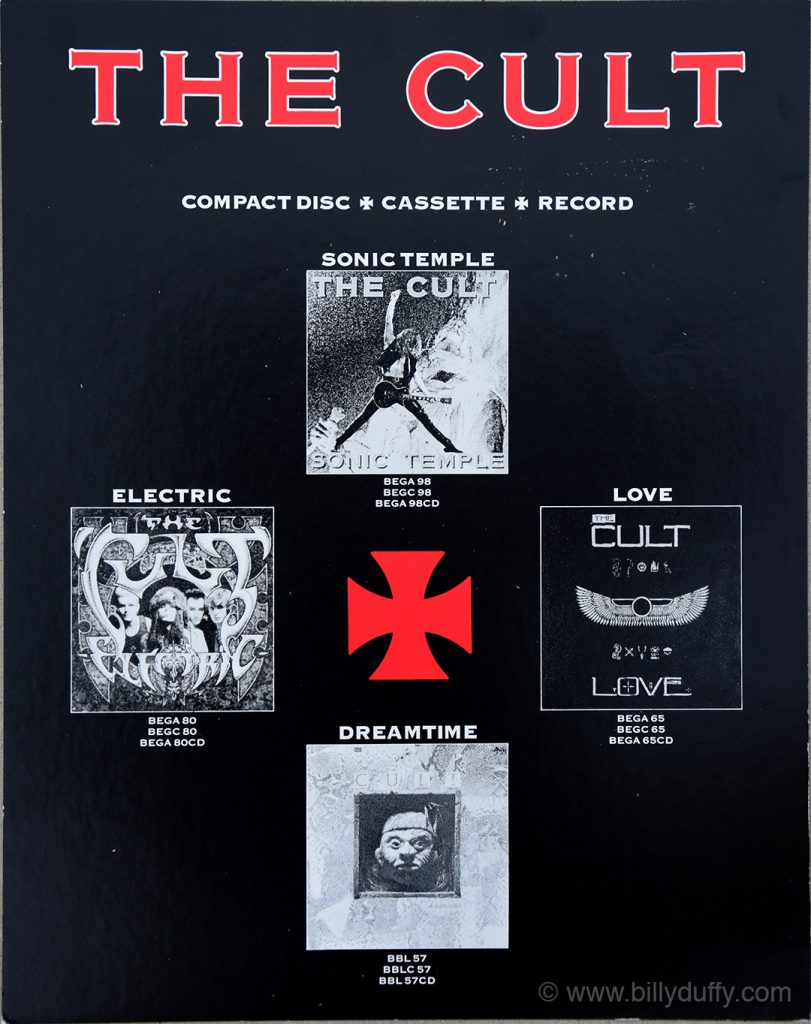 The Cult Albums Record Store Poster - 1999