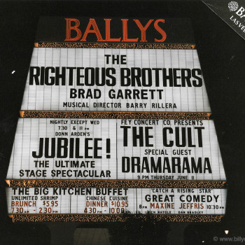 The Cult hit Vegas in '92