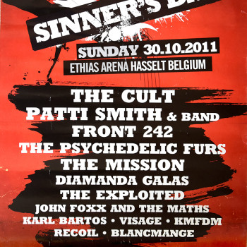 The Cult at Sinners Day, Belgium – 2011