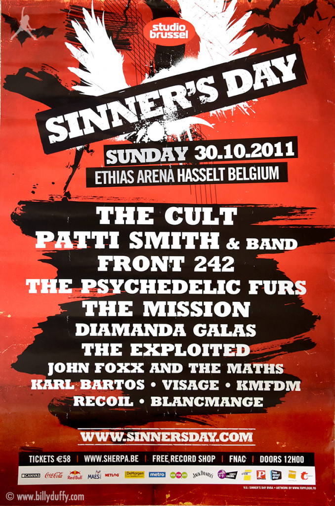 The Cult at Sinners Day, Belgium - 2011