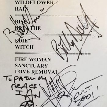 The Cult set list 01-06-2001