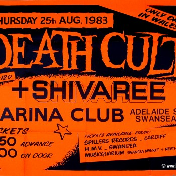 Death Cult Poster – Swansea 1983