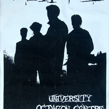 Death Cult Poster – Sheffield 24-11-1983