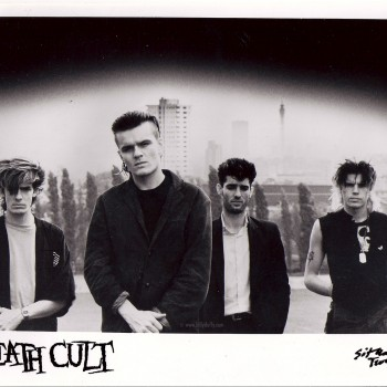 Death Cult press photo with the second line up