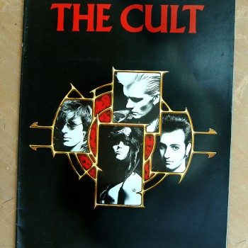 The Cult 'Electric World Tour 87' Programme #2