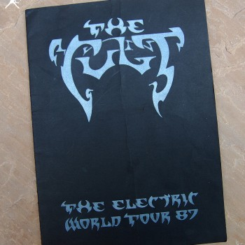 The Cult 'Electric World Tour 87' Programme