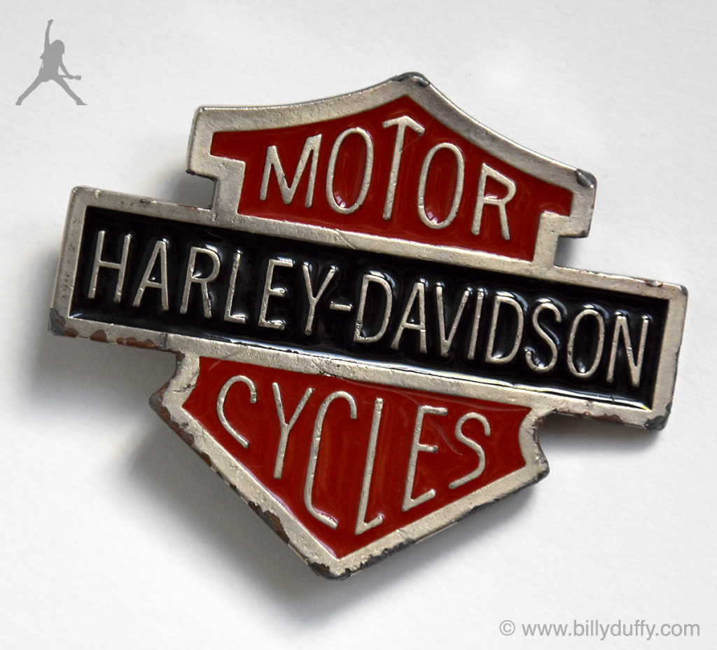 Billy Duffy's Harley-Davidson Belt Buckle