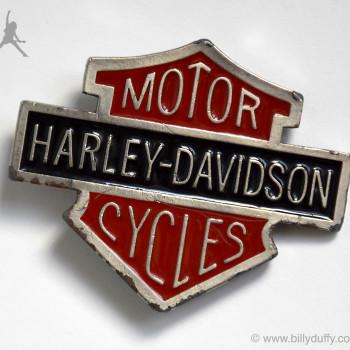 Billy's Harley-Davidson Belt Buckle