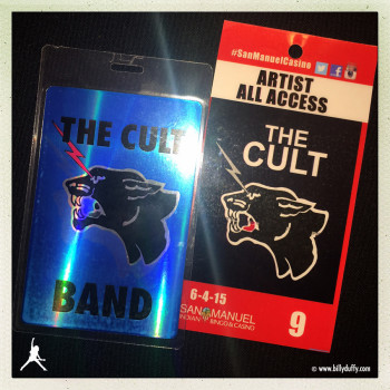 Billy's Laminates for The Cult at Highland 04-06-2015