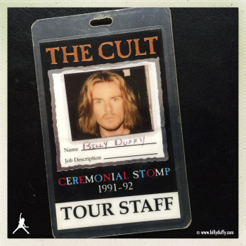 Billy's Ceremonial Stomp Tour Photo Laminate