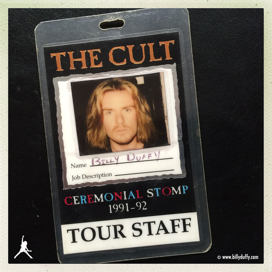 Billy Duffy's Ceremonial Stomp Tour Photo Laminate