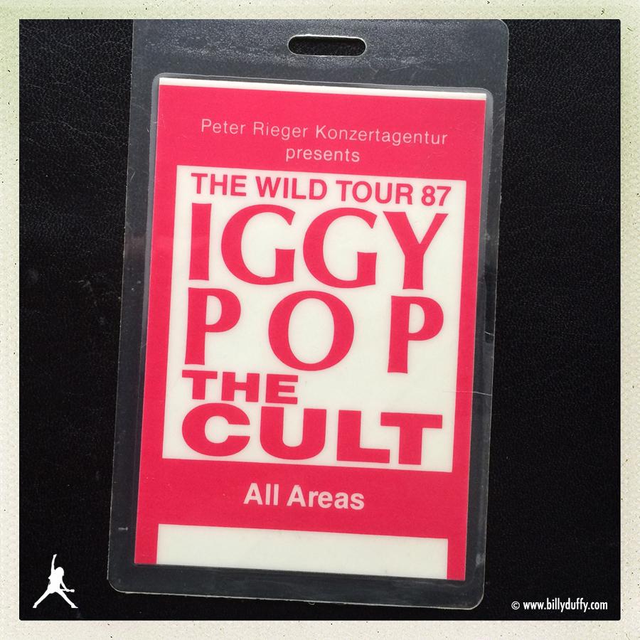 Billy Duffy's Laminate - Iggy Pop & The Cult - 1987