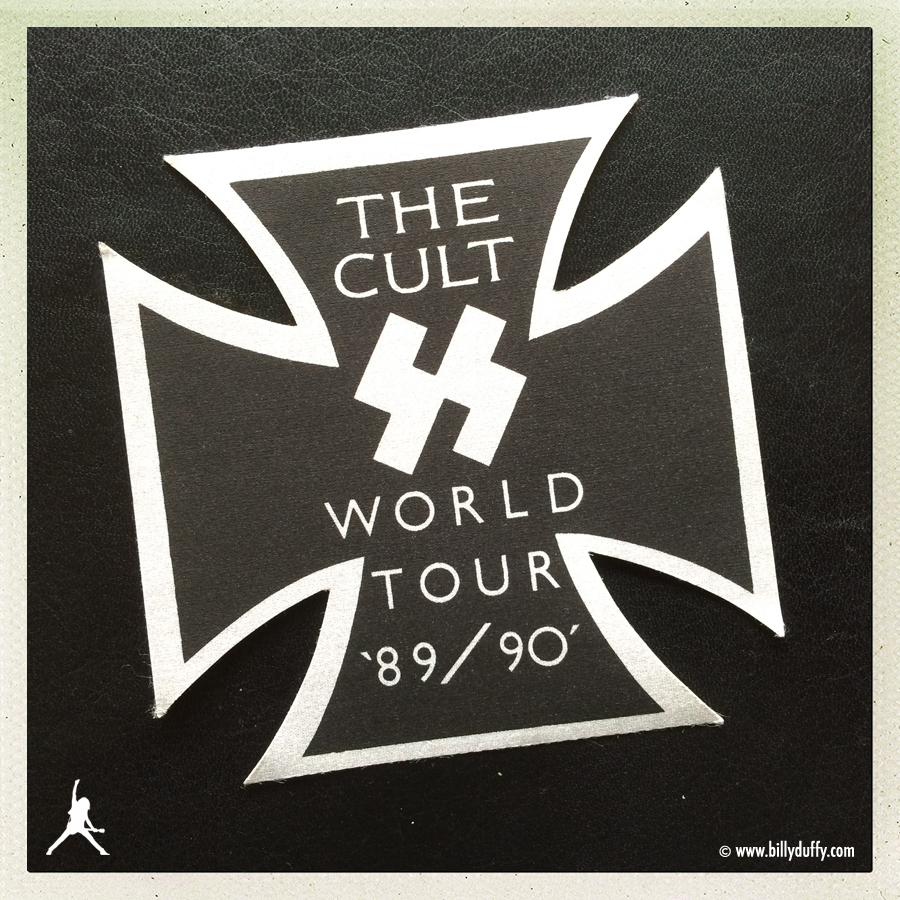 The Cult 'Sonic Temple' World Tour Guest Pas