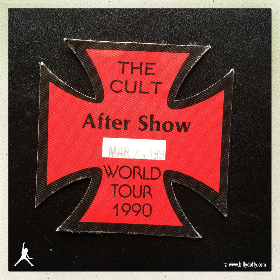 The Cult 'Sonic Temple' After Show Pass
