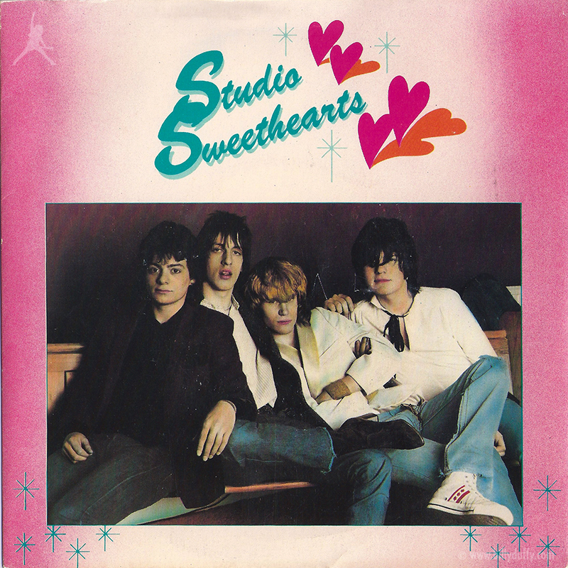 Studio Sweethearts single front cover featuring Billy Duffy