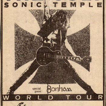 Sonic Temple World Tour – Canada – December 1989