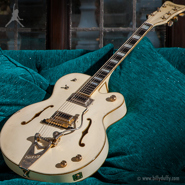 Billy Duffy's Gretsch 1970s 'Sanctuary' White Falcon
