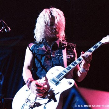 The White Falcon on the 'Electric' tour – 1987