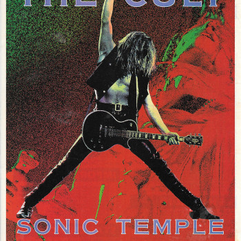 Maximum Rock & Roll… 'Sonic Temple' Press Ad