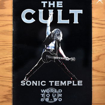 The Cult 'Sonic Temple' World Tour Programme 89-90