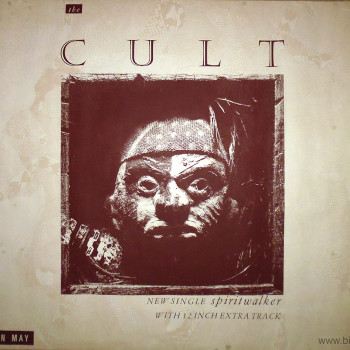 The Cult 'Spiritwalker' Poster