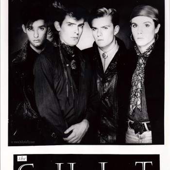 The Cult 'Dreamtime' press photo