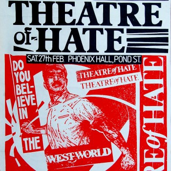 Theatre of Hate Poster 27-02-1982