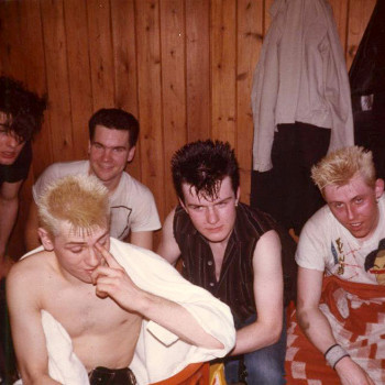 Backstage with Theatre of Hate – 1982