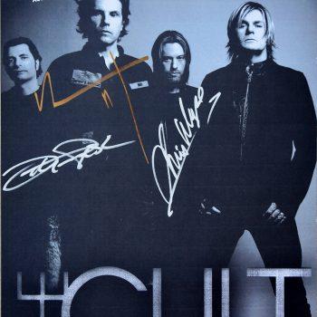 The Cult Gig Poster – Abu Dhabi 12-11-2011