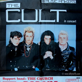 The Cult Poster – Padova 26-05-1986