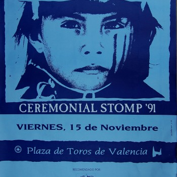 The Cult Poster – Valencia 15-11-1991