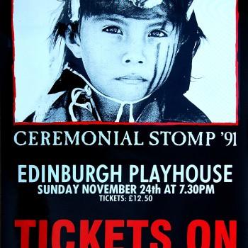 The Cult Poster – Edinburgh 24-11-1991