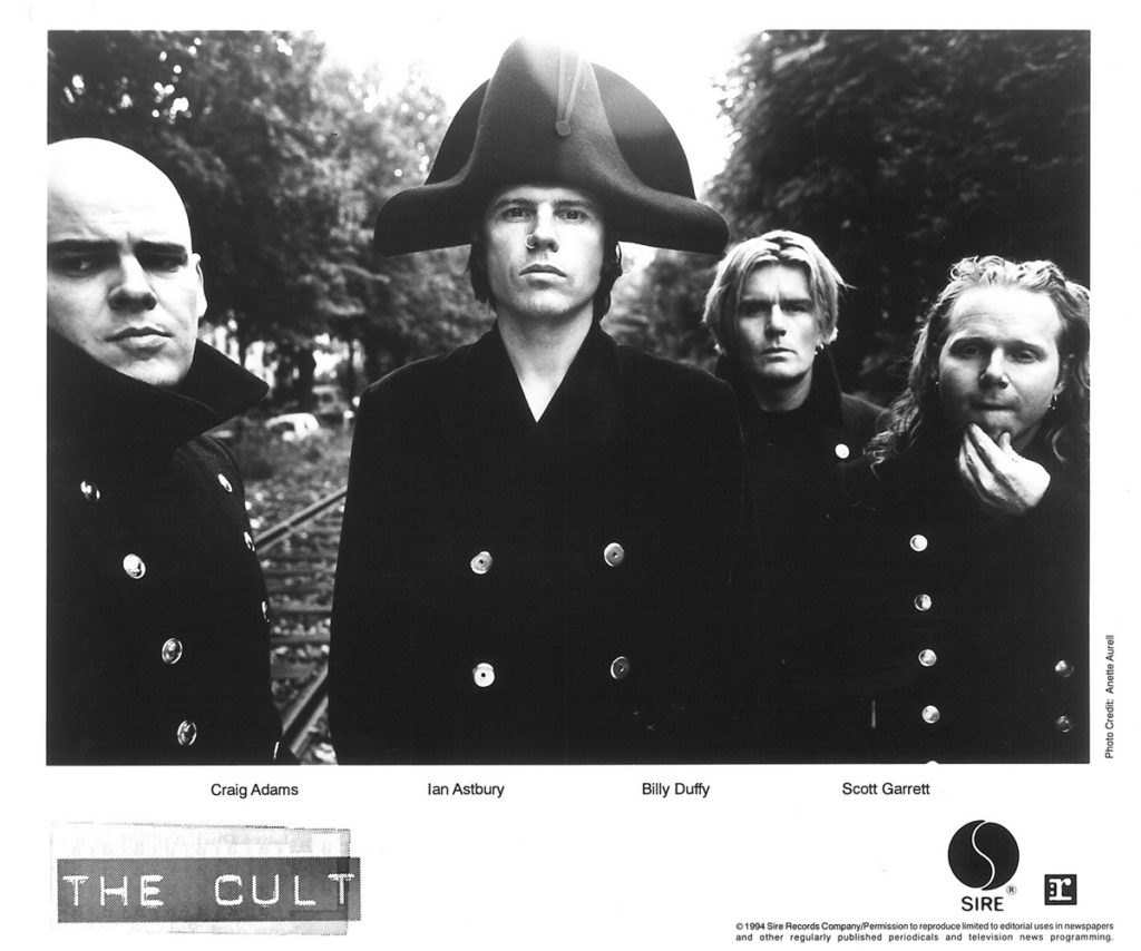 The Cult 'French Uniform' Sire Press Photo - 1994