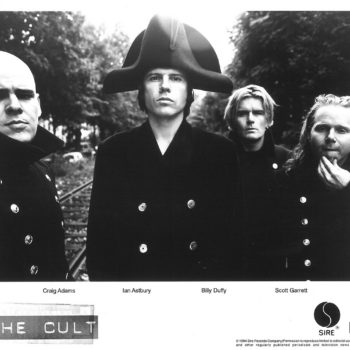 The Cult 'French Uniform' Sire Press Photo – 1994