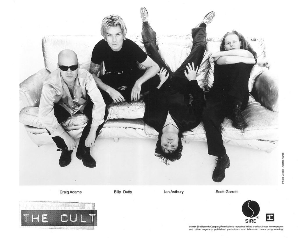 The Cult 'Couch' Sire Press Photo - 1994
