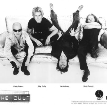 The Cult 'Couch' Sire Press Photo – 1994