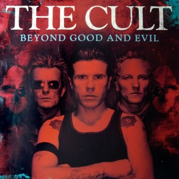 The Cult 'Beyond Good & Evil' promo poster – 2001