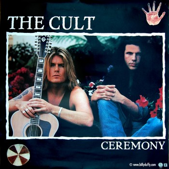 The Cult Ceremony Promo Poster -1991