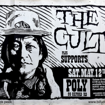 The Cult Poster 12-05-1984