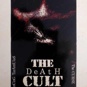 The (Death) Cult Poster 15-05-1984