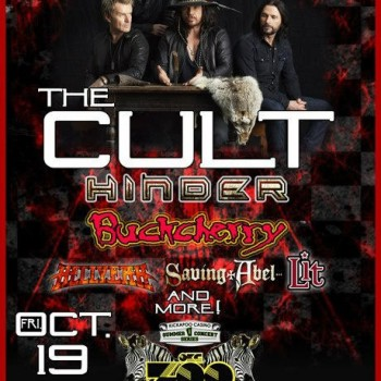 The Cult Gig Poster 19-10-2012